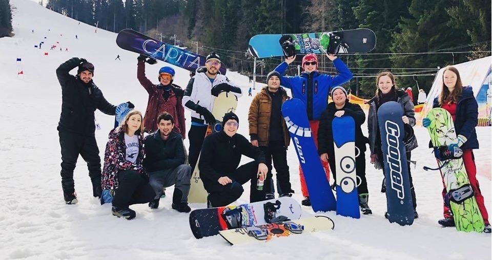 Kemp zimných športov