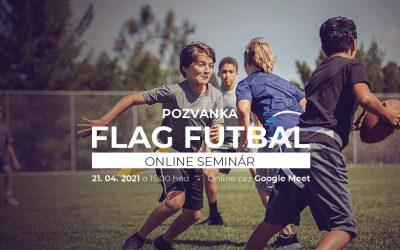 Webinár FLAG FUTBAL – sport for everybody je tu.